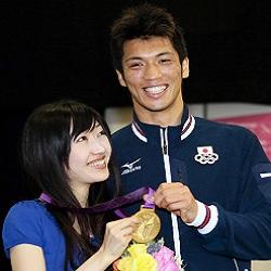 村田諒太選手と奥さんの佳子さん